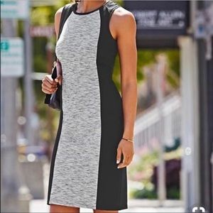ATHLETA Cityscape Dress Black And Gray